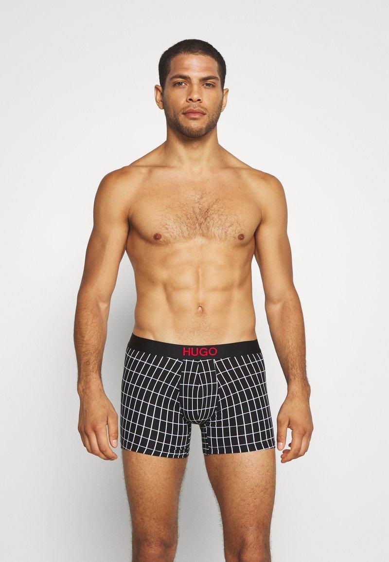 HUGO - BROTHER 2 PACK - Pants - black
