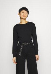 Anna Field - Langærmede T-shirts - black - 0