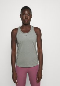 Nike Performance - ONE SLIM TANK - Topper - particle grey/black - 0