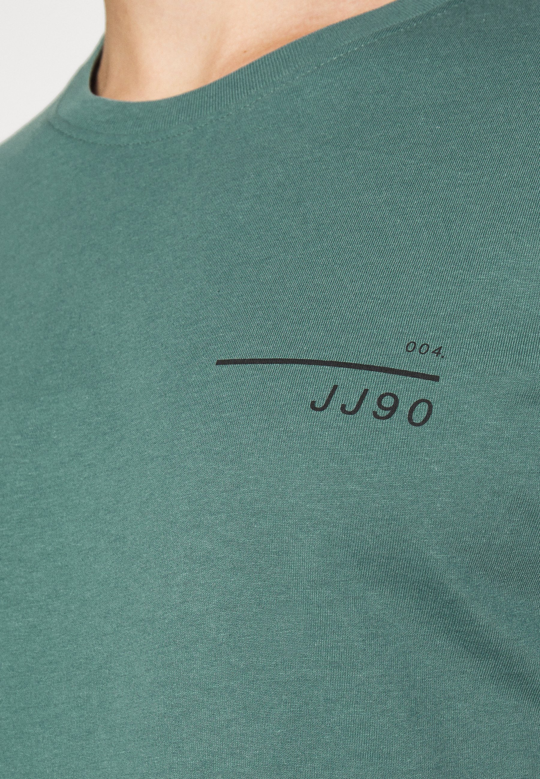 Jack & Jones JCOGRID - Print T-shirt - north atlantic IAHK9