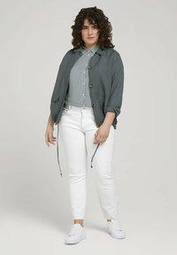 MY TRUE ME TOM TAILOR - Slim fit jeans - whisper white - 1