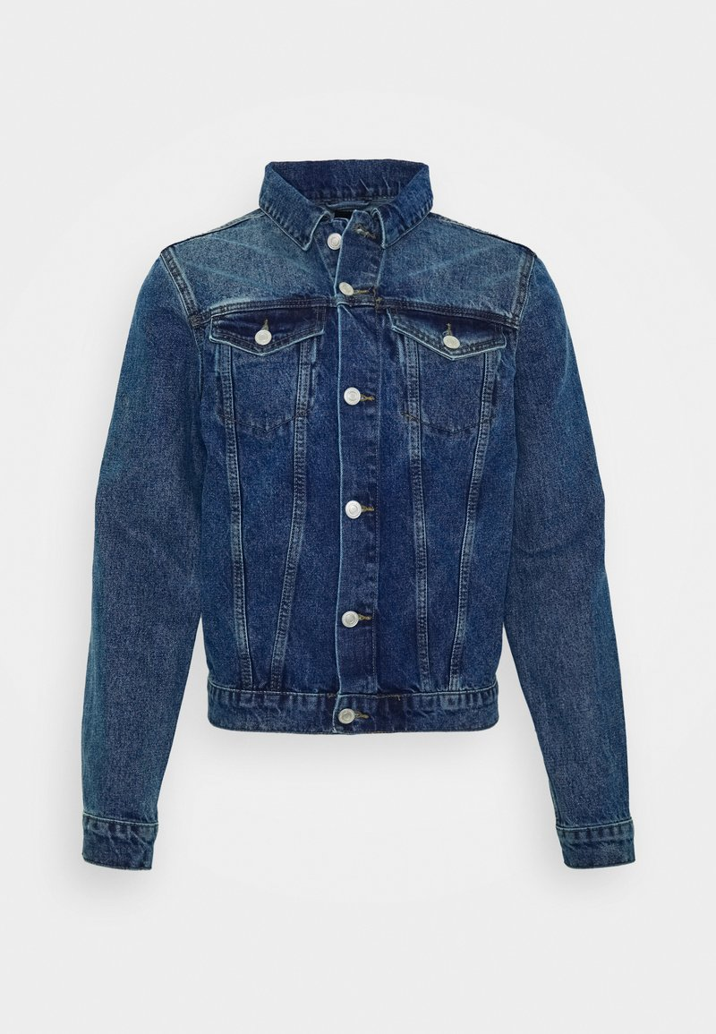 New Look - BASIC DENIM - Denim jacket - indigo