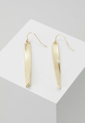 JAIN LONG PENDANT EAR - Earrings - gold-coloured