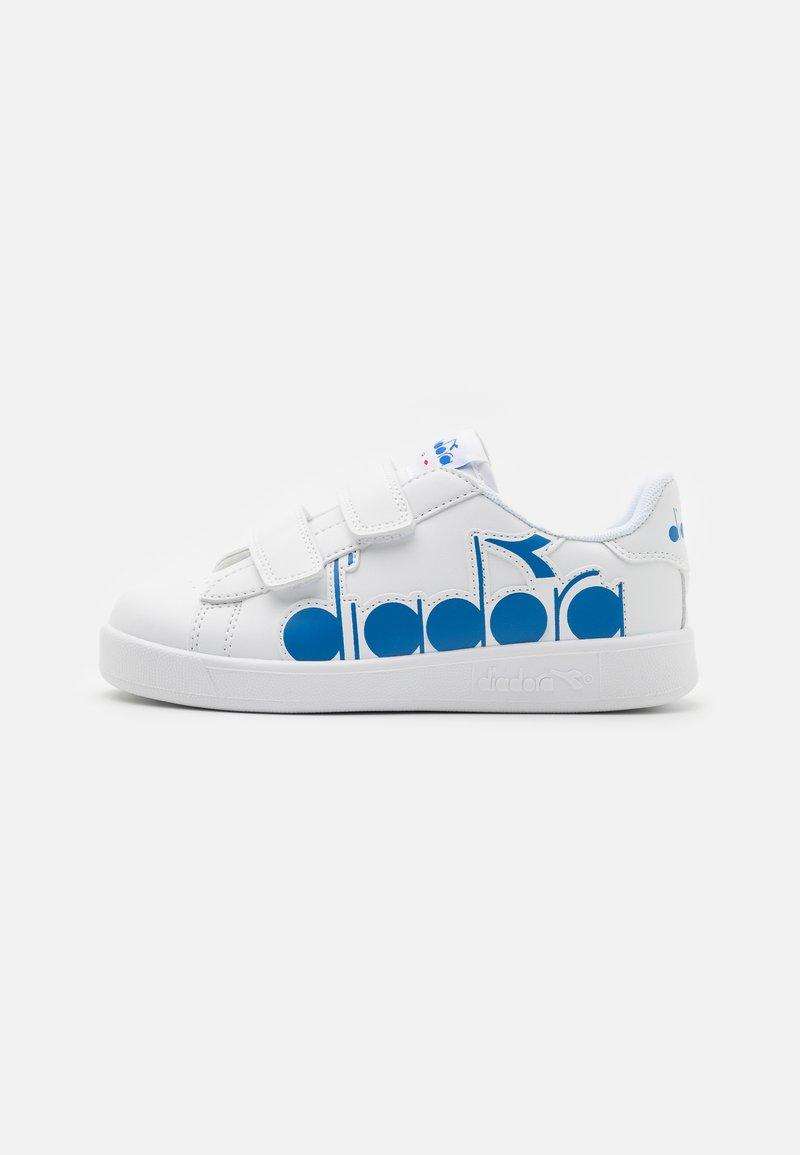 Diadora - GAME BOLDER UNISEX - Sports shoes - white/micro blue