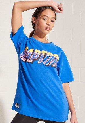 Print T-shirt - royal