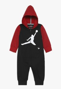 Jordan - OVERSIZED JUMPMAN COVERALL - Verryttelypuku - black/gym red - 0