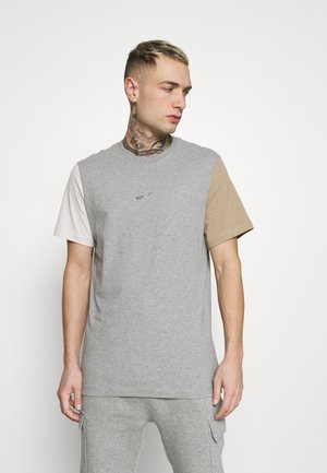 TEE - T-shirt imprimé - dark grey heather