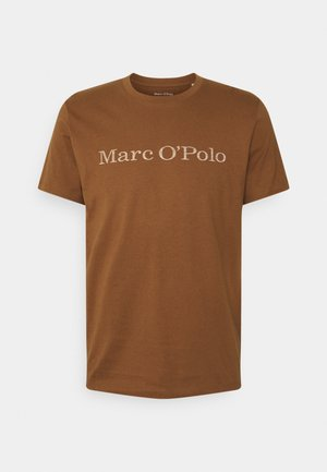 SHORT SLEEVE - Print T-shirt - brown