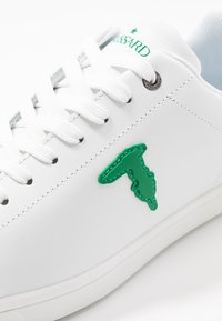 Trussardi Jeans - Trainers - white/green - 5