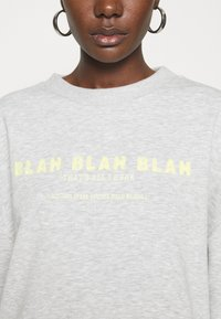 Mavi - BLAH PRINTED - Sweatshirt - light grey melange - 5