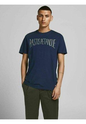 PASTIS PETANQUE-PRINT - T-shirt print - navy blue
