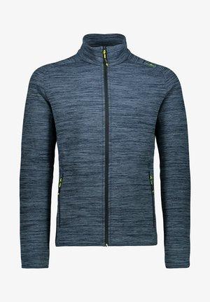 Zip-up hoodie - marine mel.