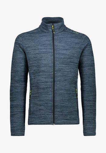 Zip-up sweatshirt - marine mel.