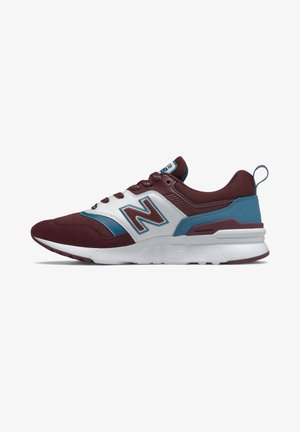 Baskets basses - nb burgundy/nb light blue