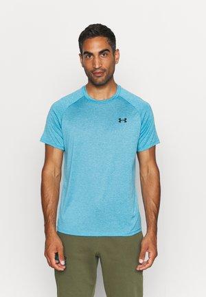 TECH 2.0 TEE - Basic T-shirt - radar blue/black