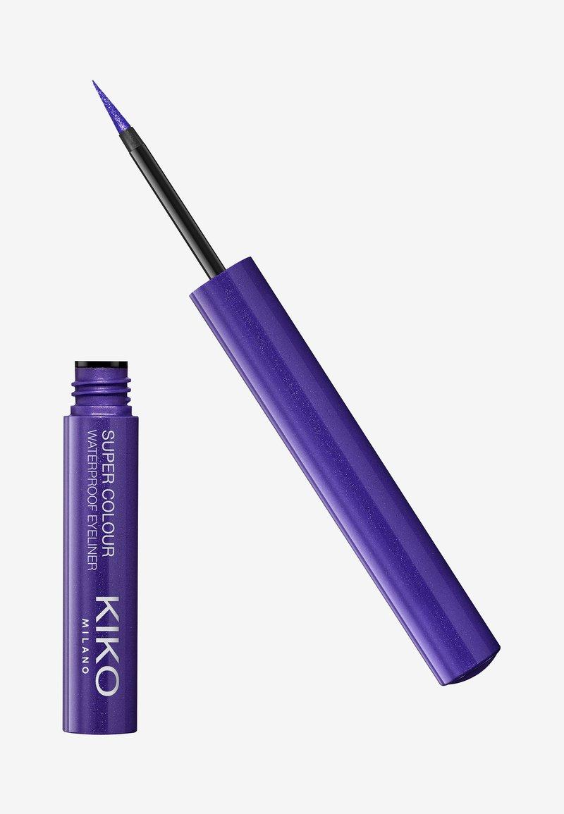 KIKO Milano - SUPER COLOUR WATERPROOF EYELINER - Eyeliner - 110 pearly regal purple