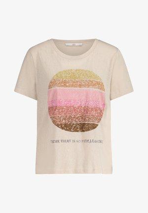 LIAVE - T-shirt print - cream