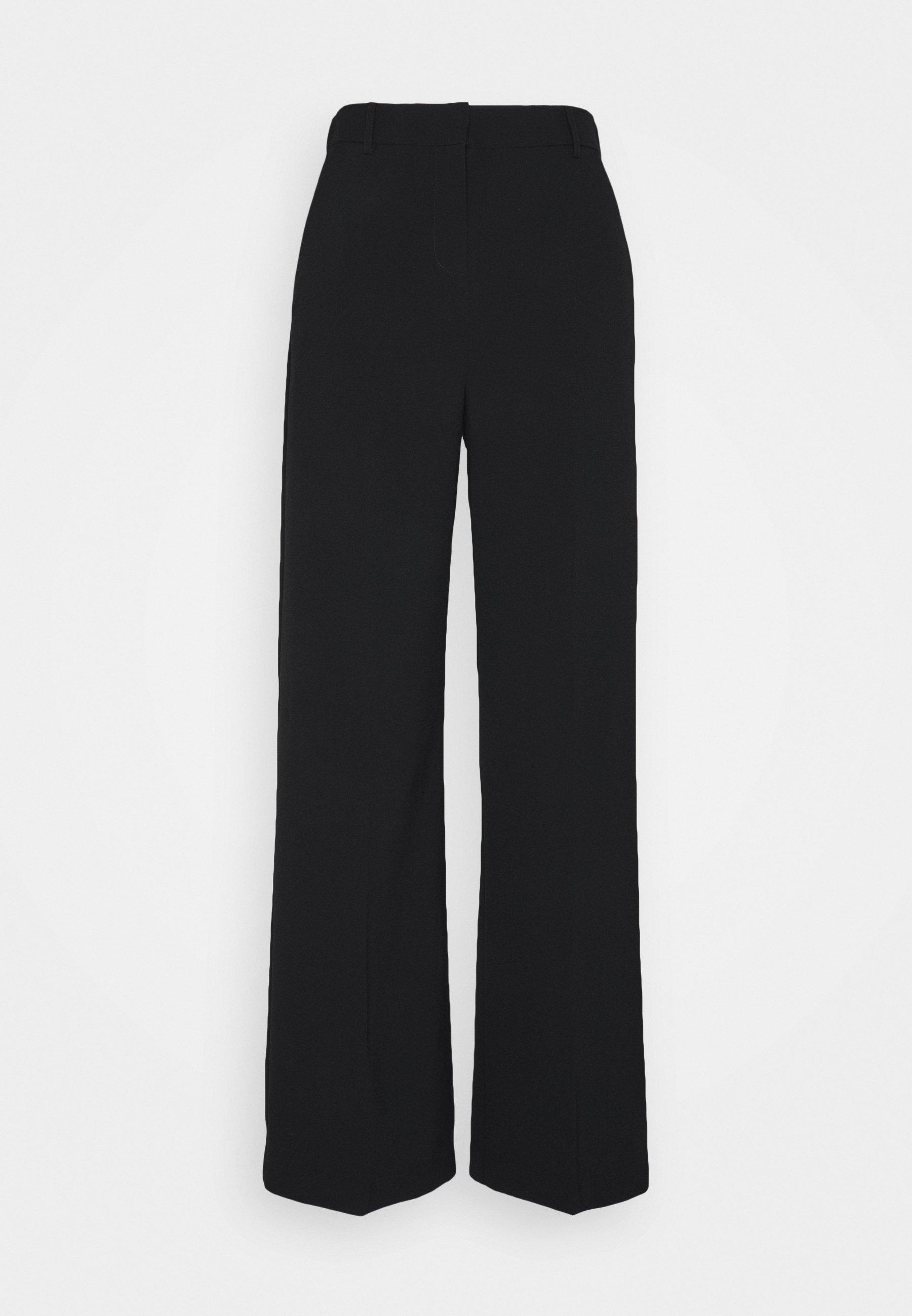 BYDANTA WIDE LEG PANTS Bukse black