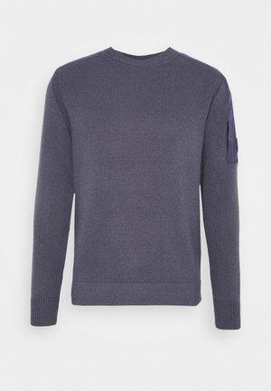 CREW NECK - Pullover - ombre blue