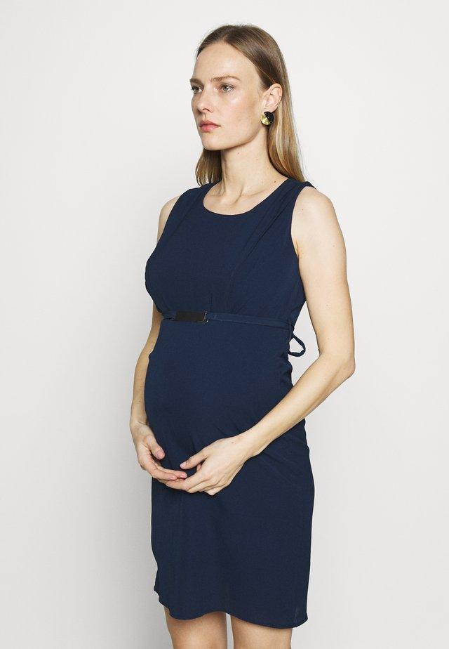 MLLASY MARY DRESS - Korte jurk - navy blazer
