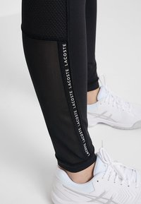 Lacoste Sport - Leggings - black/white - 4