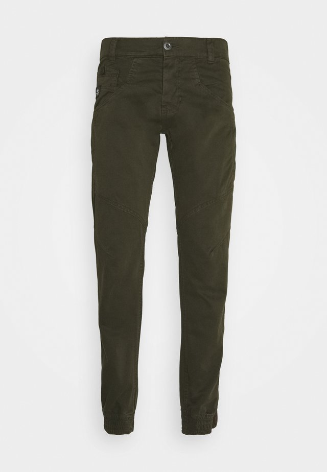 MAJOR PANT - Bojówki - black olive