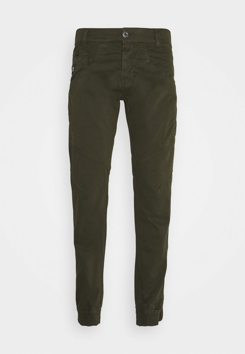 Alpha Industries - MAJOR PANT - Cargo trousers - black olive