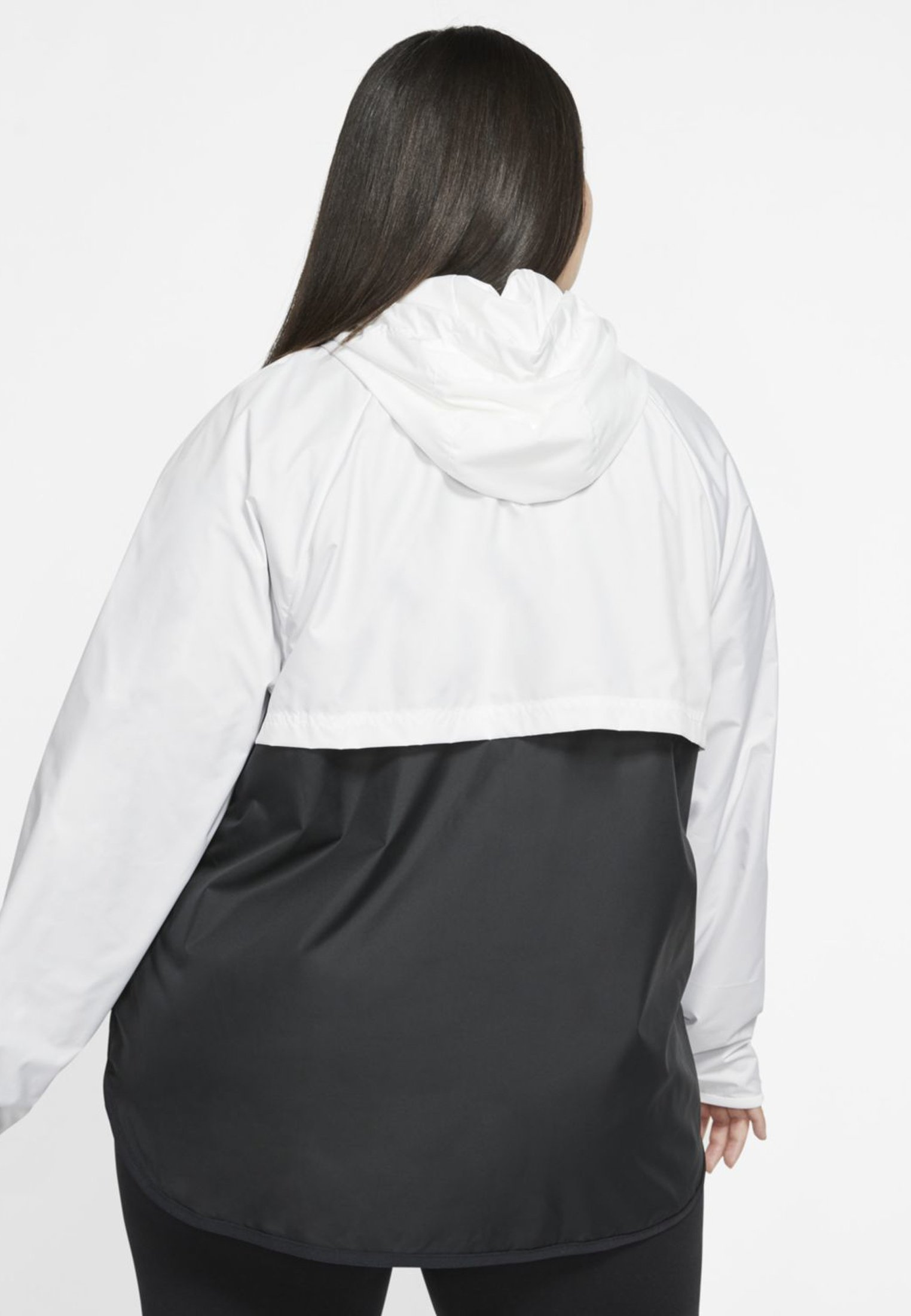 Nike Sportswear PLUS - Veste légère - white/black - Vestes Femme SDLo6