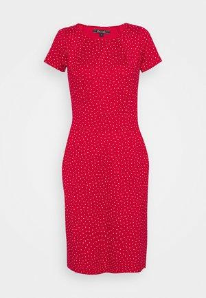MONA DRESS - Jersey dress - chilli red