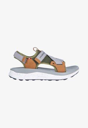 DRIVA - Walking sandals - dunkel olivgrün