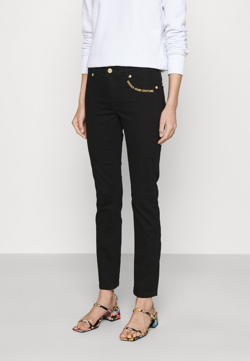 Versace Jeans Couture - Jeans Skinny Fit - black denim