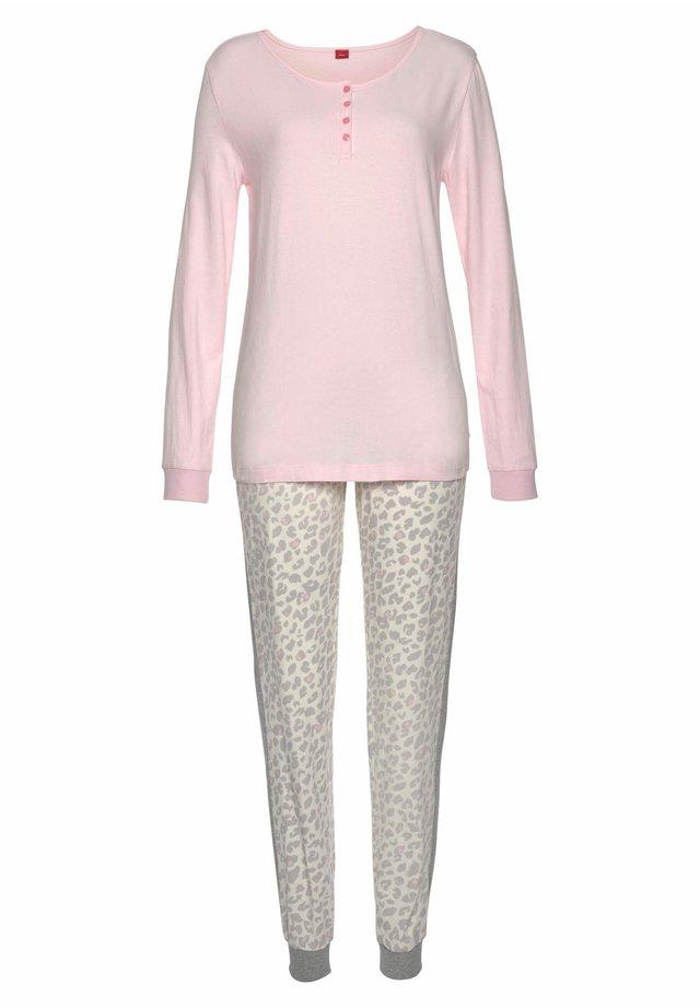 Pyjama set - rosa-leo