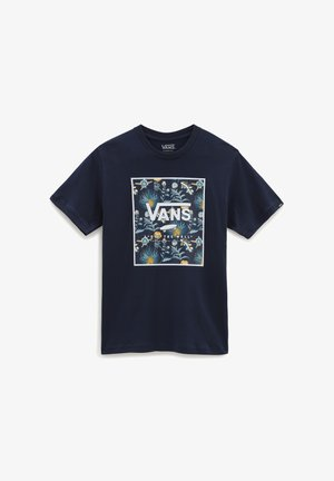 BY PRINT BOX BOYS - Print T-shirt - dress blues/califas