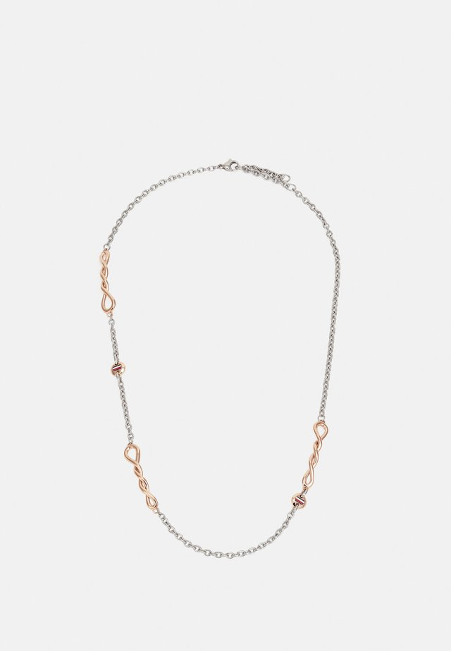 TWISTED - Necklace - silver-coloured/roségold-coloured