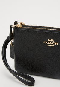 Coach - DOUBLE SMALL WRISTLET - Wallet - black - 3