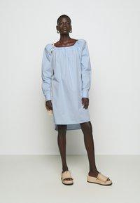 Bruuns Bazaar - ROSIE JULISE DRESS - Day dress - sky - 1