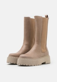 Bianco - BIADEB - Platform boots - light brown - 2