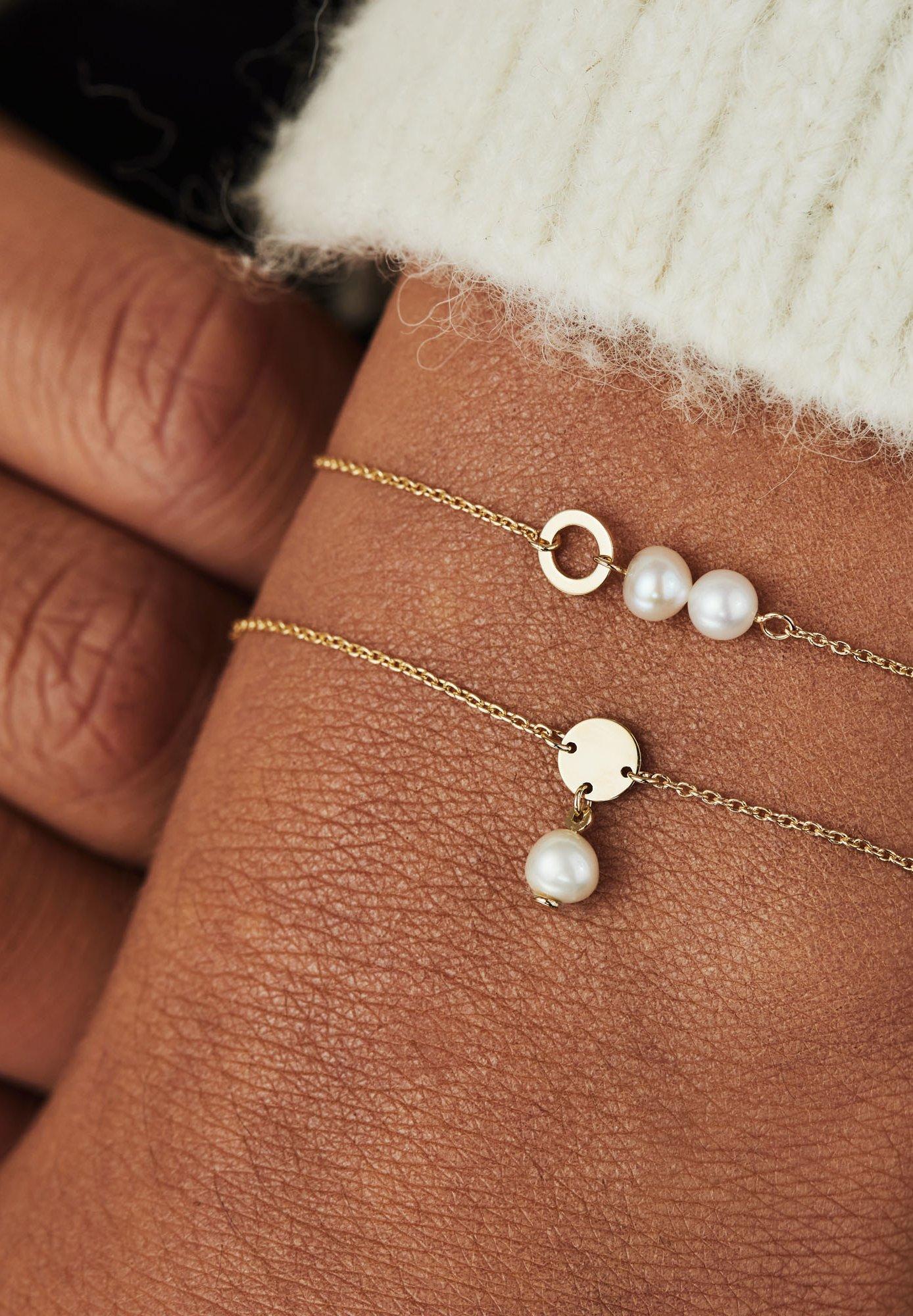 Women 14 CARAT GOLD - Bracelet