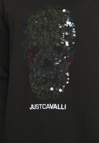 Just Cavalli - FELPA - Sweatshirt - black - 4