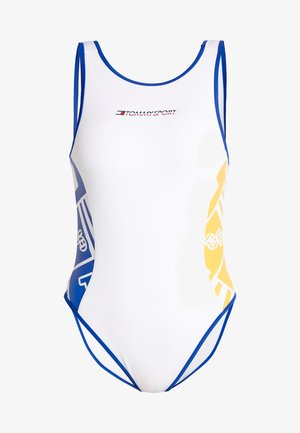 GRAPHIC BODYSUIT - Leotard - white