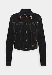 Versace Jeans Couture - LADY JACKET - Denim jacket - black - 6