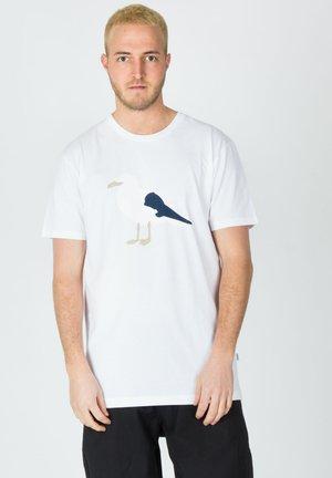 GULL - Print T-shirt - white