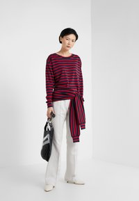 Sonia Rykiel - Long sleeved top - nuit/carmin - 1