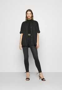 Dr.Denim - MOXY - Jeans Skinny Fit - black mist - 1