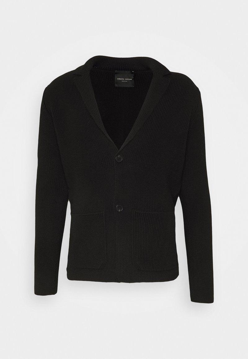 Roberto Collina - GIACCA COSTA MONOPETTO - Blazer jacket - nero