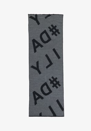 Sjaal - schwarz/grau