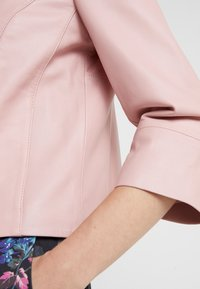 MAX&Co. - DENOTARE - Leather jacket - pink - 5
