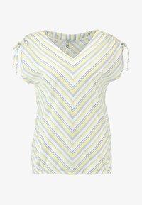 edc by Esprit - STRIPE - Blouse - light yellow - 4