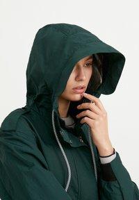 Finn Flare - Waterproof jacket - dark green - 4