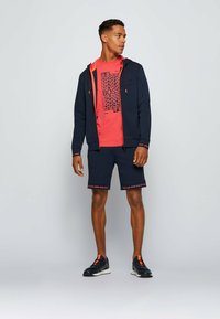 BOSS - SAGGY  - Sweater met rits - dark blue - 1